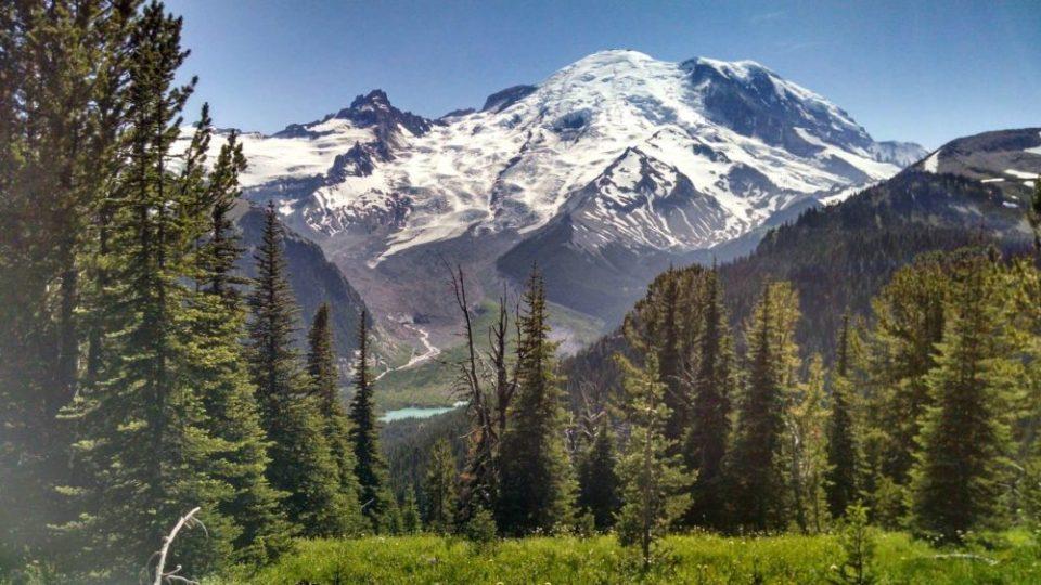 Mt Rainier Sunrise Trail