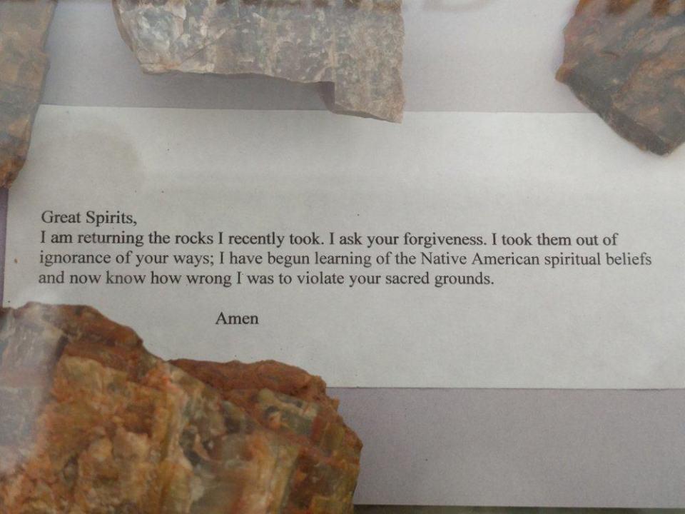 Cursed Rocks! Don't take them!