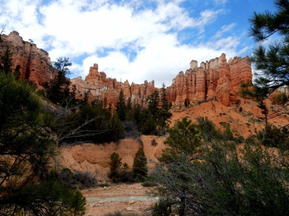 Towers Of Mossy Cave Trail