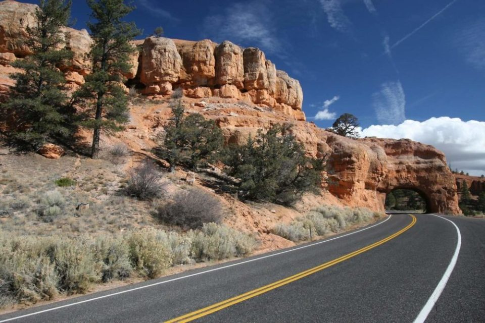 Utah State Route 12 Near Red Canyon