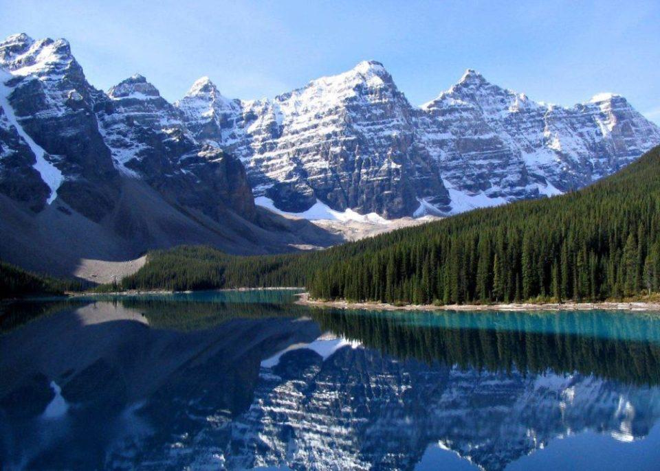 Rocky Mountains National Park Moraine Lake