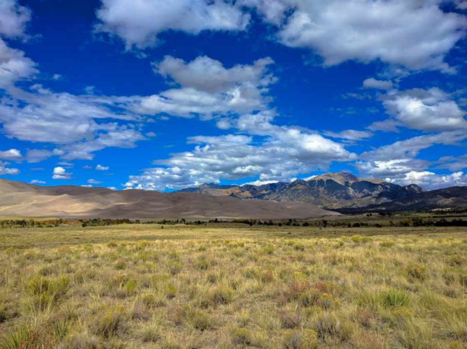 Great Sand Dunes View From Afar