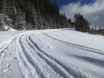 The Castle Peak trailhead