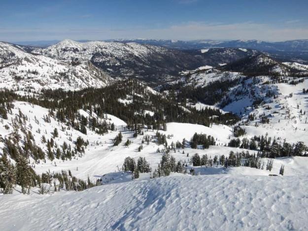 East from Castle Peak
