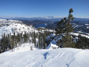 Donner Lake from Mount Judah