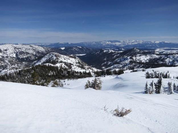 East from Basin Peak