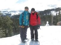 Snowshoeing On RIdge