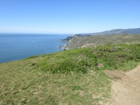 The Marin Headlands to the North of Pirates Cove