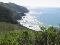 The Marin Headlands and the peninsula