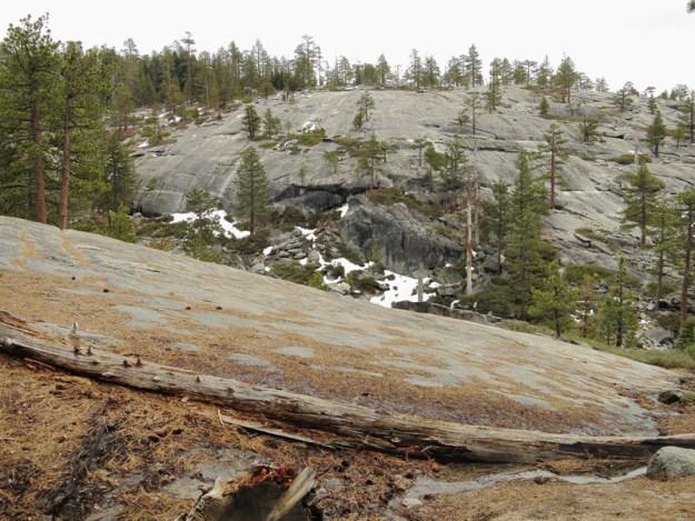 Dry hills above Yosemite Creek