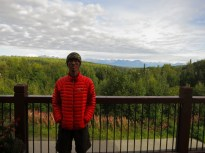 Me and the mountains from the McKinley Princess resort