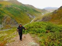 Jon Climbing