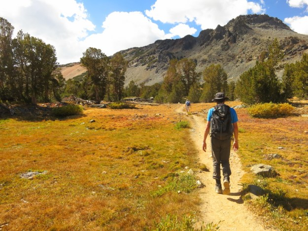 Michael on the Trail