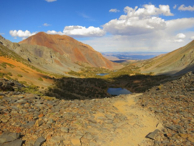 East from Burro Pass