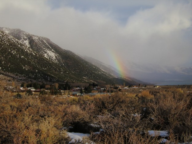 Lee Vining Rainbow