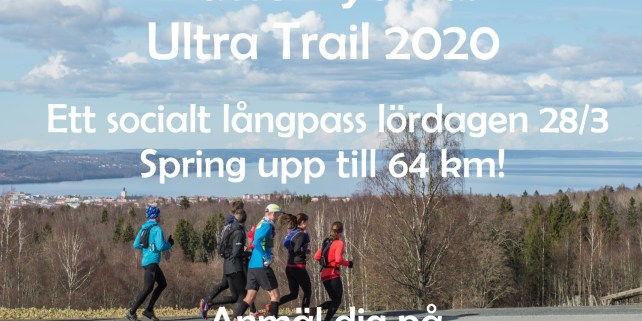 Anmälan VätterVyernas Ultra Trail 2020