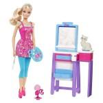 Tô màu theo chủ đề: Thời trang Barbie-Phần 1
