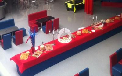 Organisation de réceptions
