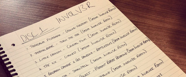 Sasha - Involv3r Tracklist