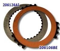 Фрикционные Диски, (3rd Clutch) 4T65E односторонние с внутренним и наружным зубом