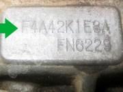 номер АКПП F4A42