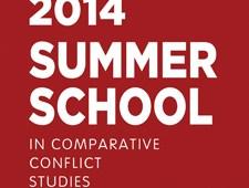 2014 Summer School in Comparative Conflict Studies