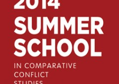 2014 Summer School in Comparative Conflict Studies