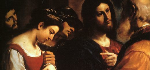 guercino-woman-taken-adultery