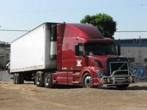 Volvo Truck, courtesy of Patrice Raunet Hollywood