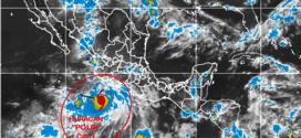 'Polo' se convierte en huracán, Alerta en Manzanillo