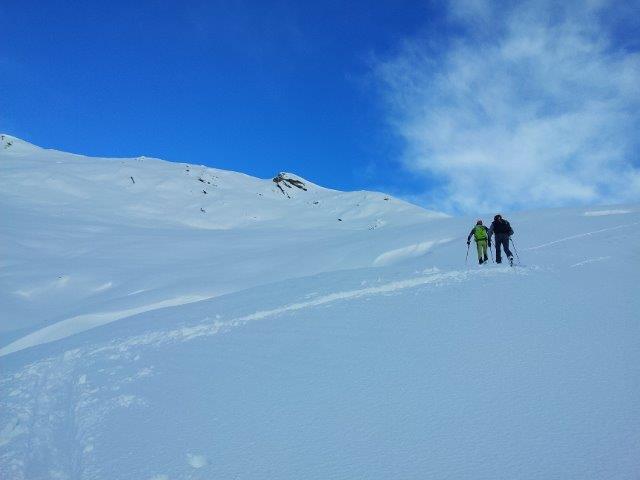 Verso il Monte Lion (m s.l.m. 2010)