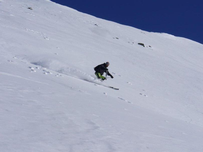 Discesa su neve fresca (Mont-Vailet m s.l.m. 2614)