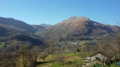 Veduta di Inverso (750 m s.l.m)
