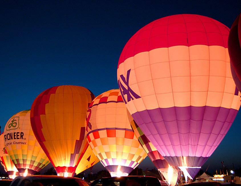 Abenteuer Heißluftballon Travel Surf Club