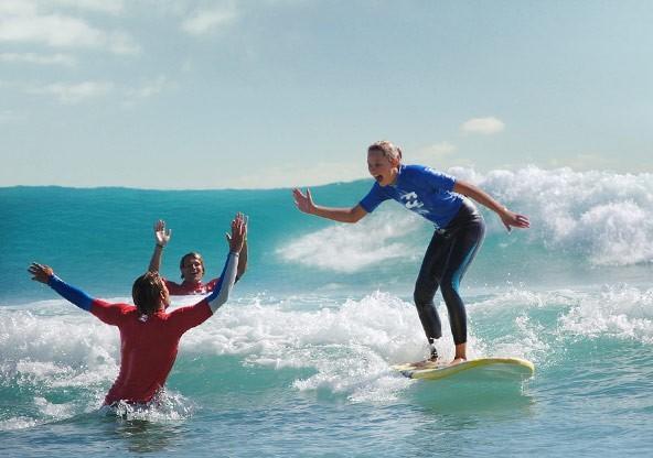 Familien Surfcamp - Fuerteventura