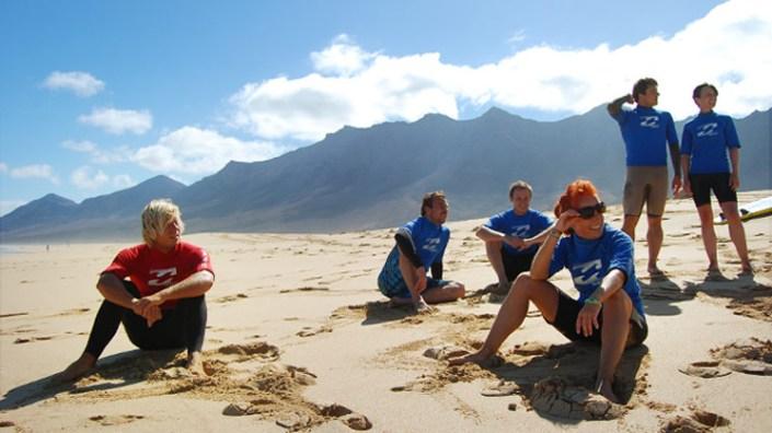 Surfurlaub am Strand von Costa Calma Fuerteventura