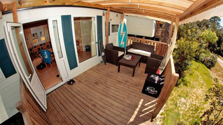 Surfcamp Frankreich - Familien Surfcamp - Unterkunft