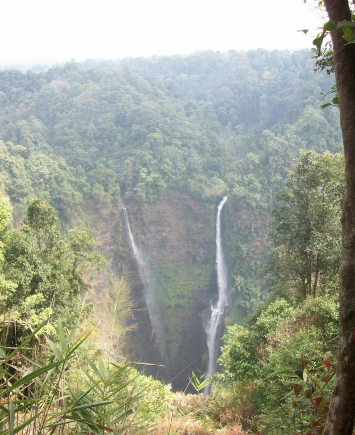 The Man Who Fell Down the Tallest Waterfall in Laos
