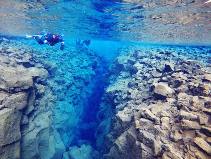 I Snorkeled Between Tectonic Plates in Iceland