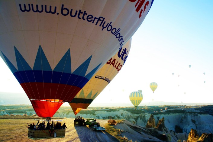 Photos From The Road: The Balloons Of Cappadocia