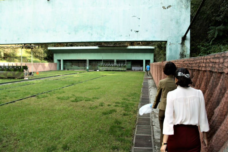 North Korea Shooting Range