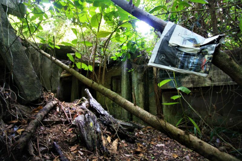 Abandoned Forts Sentosa Island Singapore