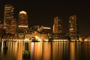 Boston is surrounded by water. In summer, it flows sluggishly through the city and thickens the air; in winter, it freezes and is whipped through the streets. But on this balmy summer evening, the waters were still as I strolled along the dockside opposite the Boston Harbour Hotel.