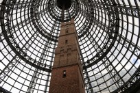 Melbourne Central is a rabbit warren of shops, restaurants, and grungy hangouts all built around this former shot-tower, once the nascent city's tallest building.