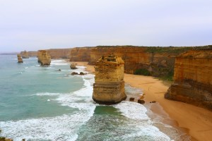 The towering Seven Sisters offer one of the Great Ocean Road's most scenic views but, unfortunately, have turned into something of a tourist circus.