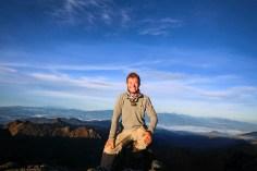 The summit of Mt Wilhelm