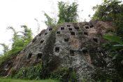 Cliffside graves in Toraja