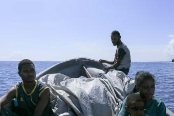 Banana boat to Aitape