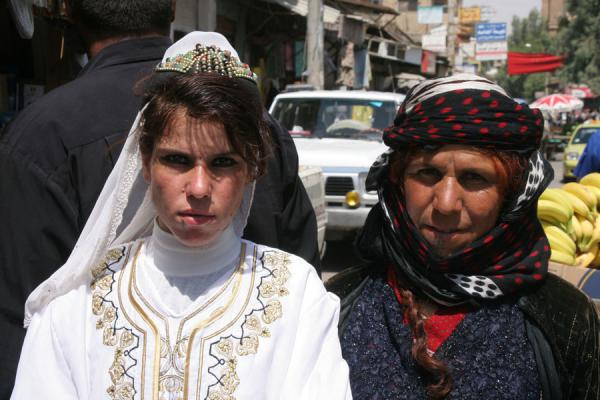Picture of Syrian beauty in the streets of Deir es Zor | Syria