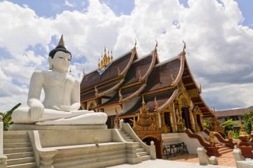 Mornthean Temple in Chiang Mai,Thailand